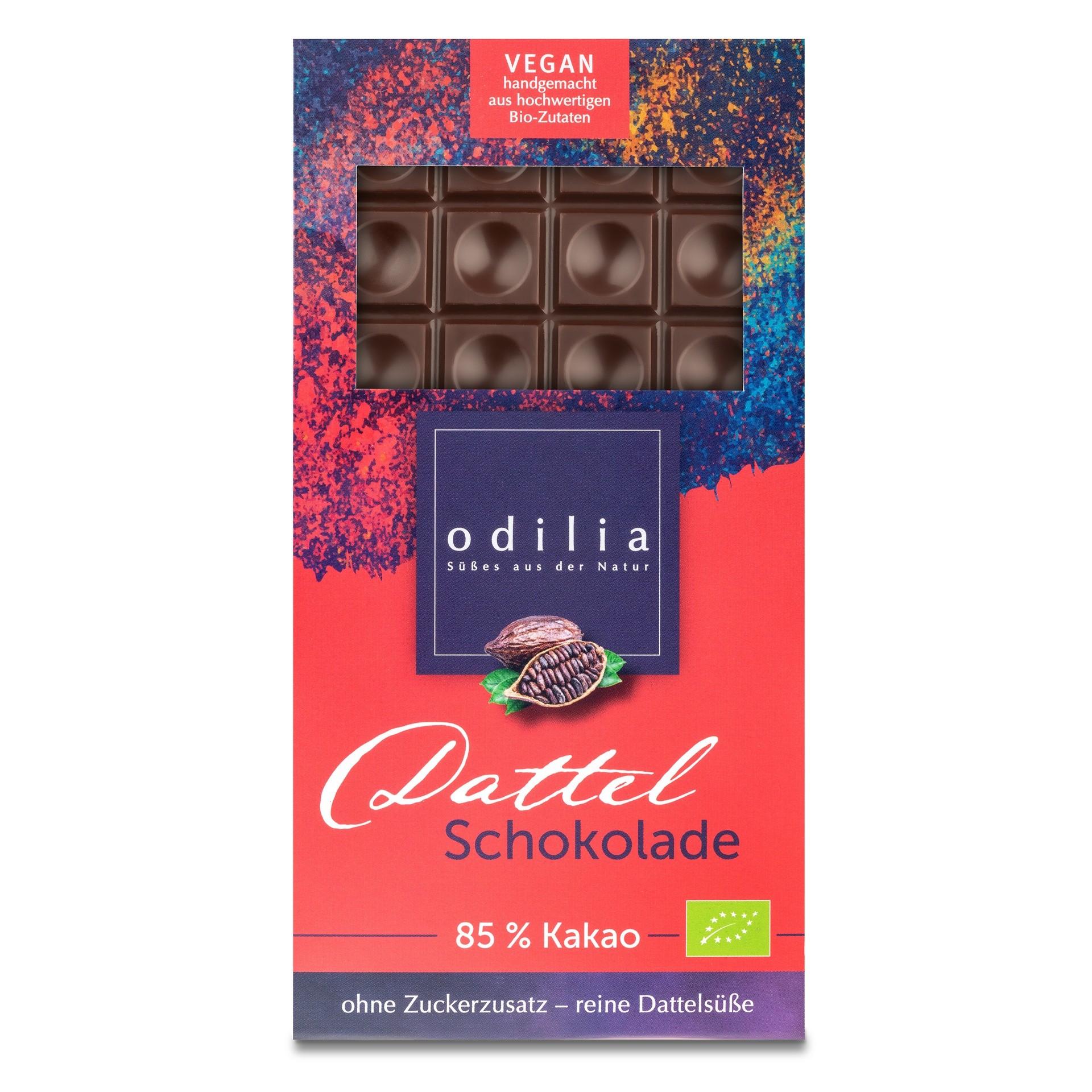 Bio Dattel Schokolade 85% Kakao