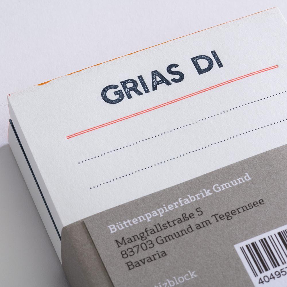 Bayrische Notizzettel