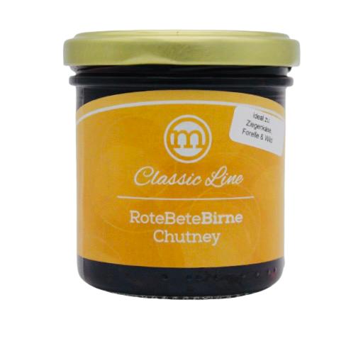 Rote Bete-Birne Chutney