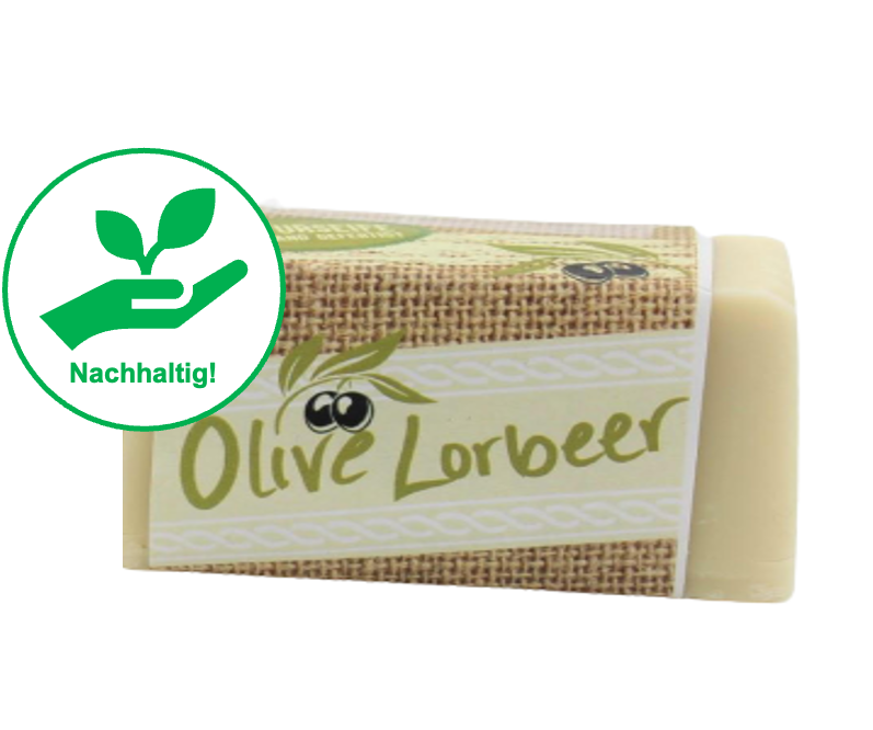 Oliven-Lorbeerseife