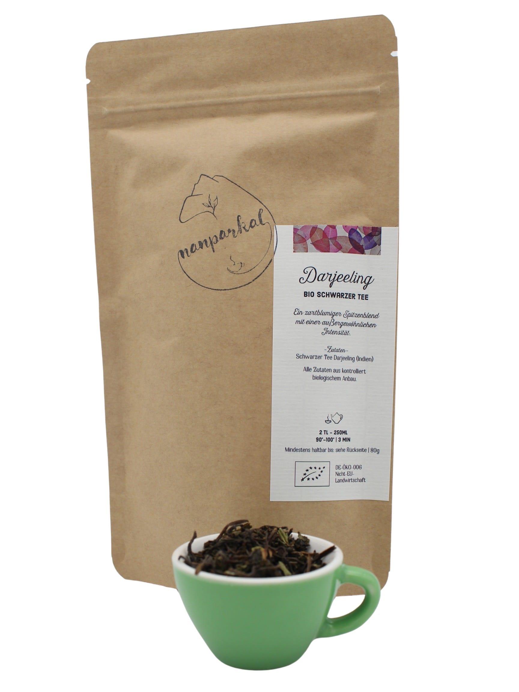 Darjeeling - Bio-Schwarzer Tee aus Indien